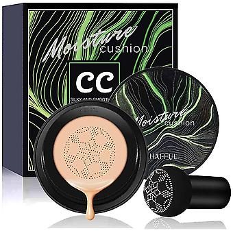 Coussin d'air Cc Crème Anticernes Champignon Tête Brosse Maquillage Fond de Teint Humidité