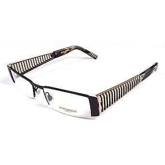 Semi-rettangolo Boucheron Unisex occhiali da vista viola/oro