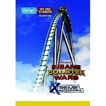 We Are Summer: Insane Coaster Wars & Xtreme [DVD] USA import