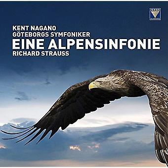 Richard Strauss / Symfoniker / Nagano - Richard Strauss: Eine Alpensinfonie [Vinyl] USA import