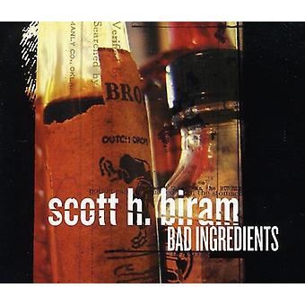 Scott H Biram - Bad Ingredients [CD] USA import