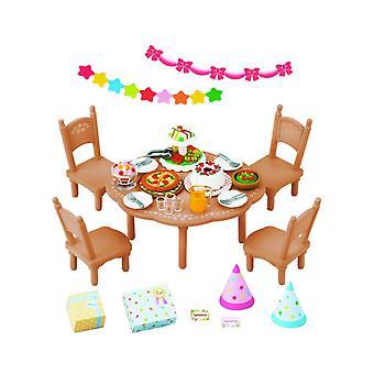 Produkty Sylvanian Families 2932 Party zestaw (bez figury)
