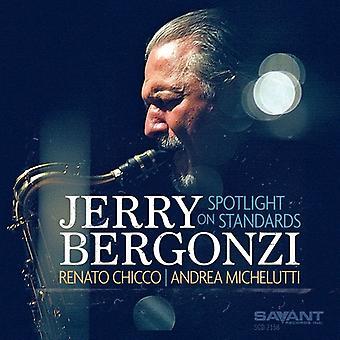 Jerry Bergonzi - pleins feux sur l'importation des USA de normes [CD]