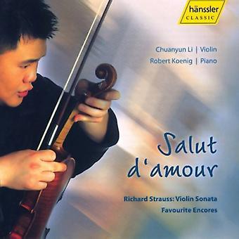 Chuanyun Li - Salut D'Amour [CD] USA import