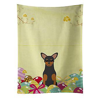 Carolines skarby BB6028KTWL pisanki Ręcznik kuchenny Manchester Terrier