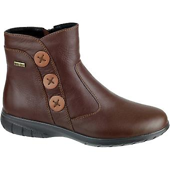 Cotswold damer Dowdeswell skinn Zip feste Ankel Boot Brown