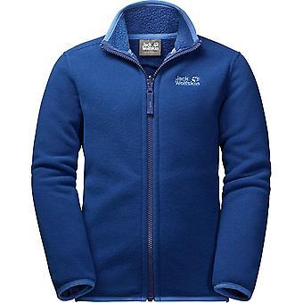 जैक Wolfskin लड़कों आर्कटिक वुल्फ गर्म सर्दियों ऊन गद्देदार जैकेट शीर्ष