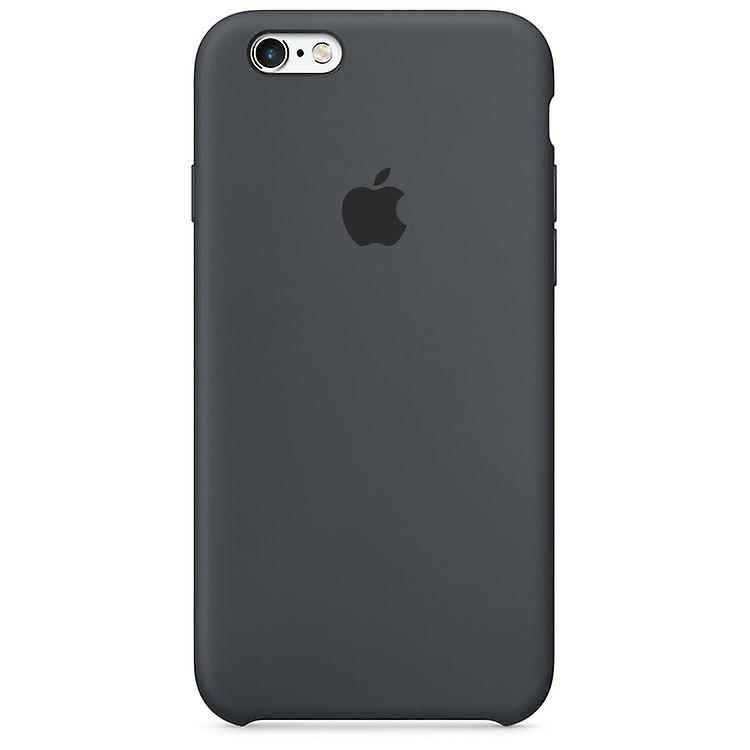 Original packaging Apple silicone cover case for iPhone 6 6 S anthracite grey
