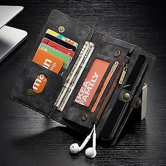 CaseMe case for Apple iPhone X / XS 5.8 purse + protective case + case black