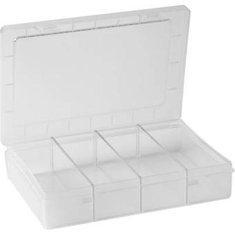 Hünersdorff Assortment box (L x W x H) 180 x 140 x 40 mm No. of compartments: 1 fixed compartments 1 pc(s)