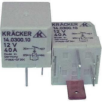 Kräcker 14.0300.10 Automotive relay 12 Vdc 70 A 1 maker