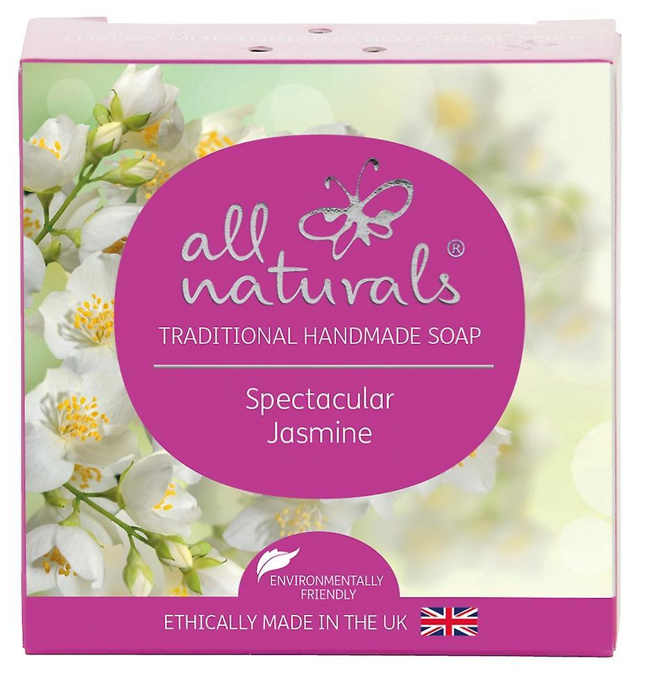 All Naturals Organic Soap Bar Jasmine 100g