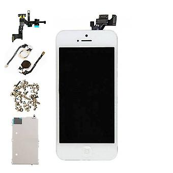 Stuff Certified® iPhone 5 Pre-mounted screen (Touchscreen + LCD + Parts) AAA + Quality - White