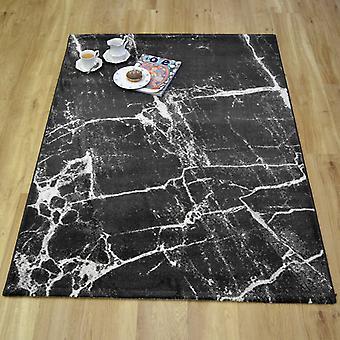 Tapetes de mármol 37201 792 en gris oscuro
