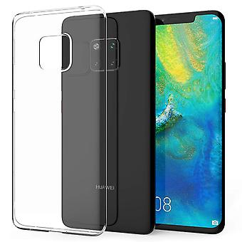 Huawei mate 20 Pro transparent case cover silicone