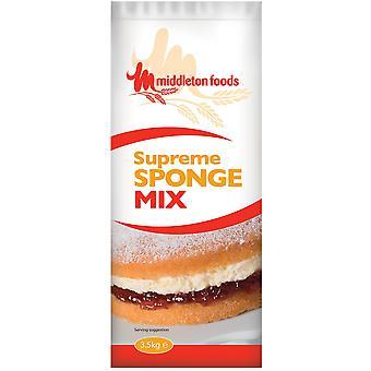 Middletons Supreme Plain Sponge Cake Mix