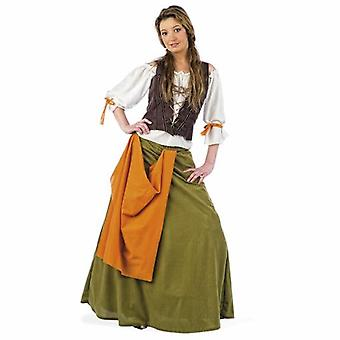 Aubergiste médiéval costume hôtesse hôte femme Mesdames costume Lady