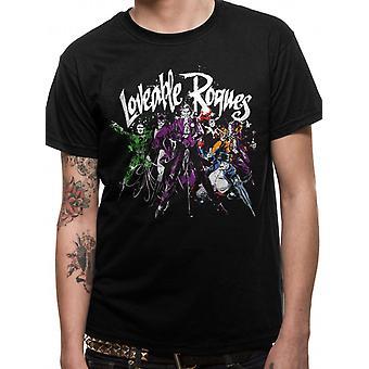 T-shirt van Batman-Loveable Rogues