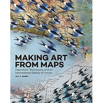 Making Art from Maps - Inspiration - Techniques - and an International