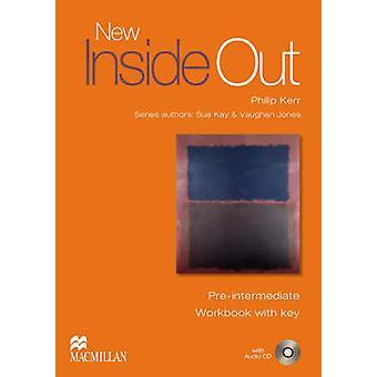 Nya avig pre-Intermediate - arbetsbok + nyckel Pack av Sue Kay - Vau
