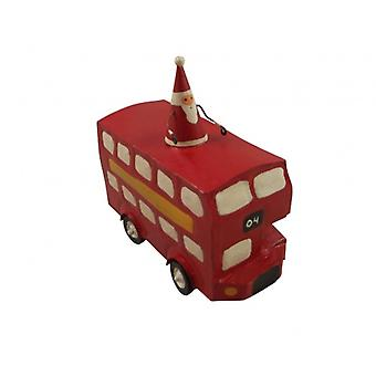 Shoeless Joe Christmas Tree Decoration - Santa in a Bus