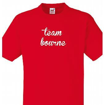 L'équipe Bourne rouge T shirt