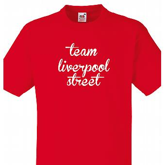 Team Liverpool Street Red T shirt