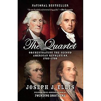 Kwartet: Orkestreren van de tweede Amerikaanse Revolutie, 1783-1789