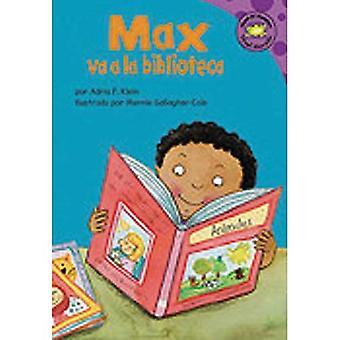 Max va la Biblioteca / Max menee kirjasto (Lue-It! lukijat Fi Espanol, Nivel Morado)