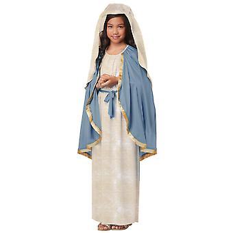 زي مريم العذراء عيد الفصح يوم الجمعة العظيمة الدينية التوراتية الفتيات