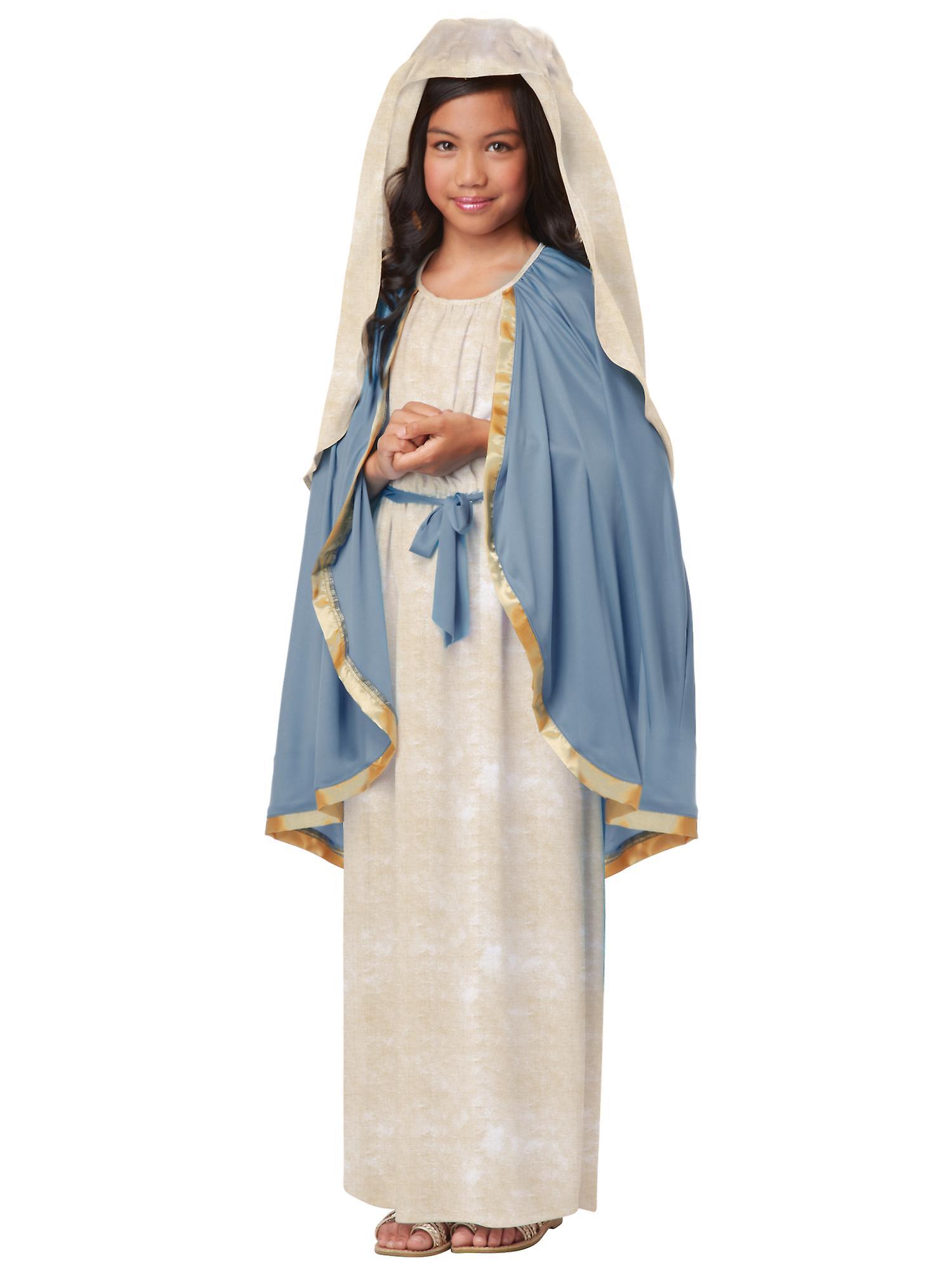 The Virgin Mary Christmas Easter Good Friday Religious Biblical Girls Costume
