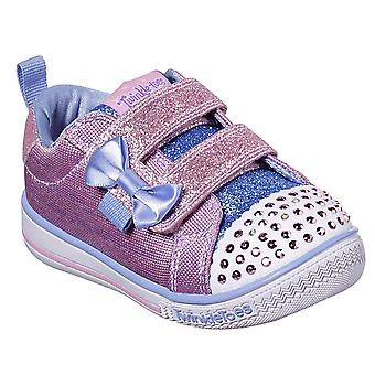 Kids Girls Infants Skechers Twinkle Play Sparkle Printer Twinkle Toes