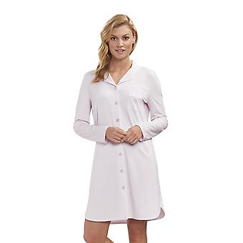 Féraud 3883031-11577 Women's High Class New Rose Pink Night Gown Loungewear Nightdress