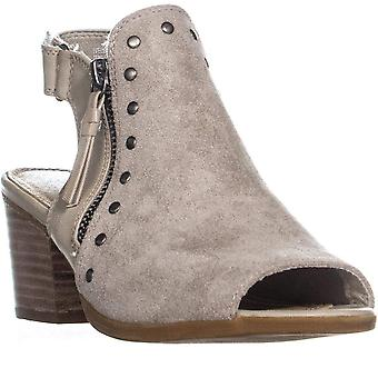 Bare Traps Womens Ivella Fabric Open Toe Ankle Fashion Boots