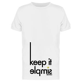 SmileyWorld Keep It Simple Graphic Men's T-shirt