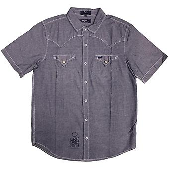 Lrg High Moon Short Sleeve Shirt Slate