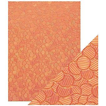Craft Perfect by Tonic Studios A4 Hand Crafted Paper Pink Sunset | Pack of 5