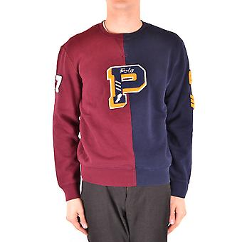 Ralph Lauren Ezbc037182 Men's Multicolor Cotton Sweater