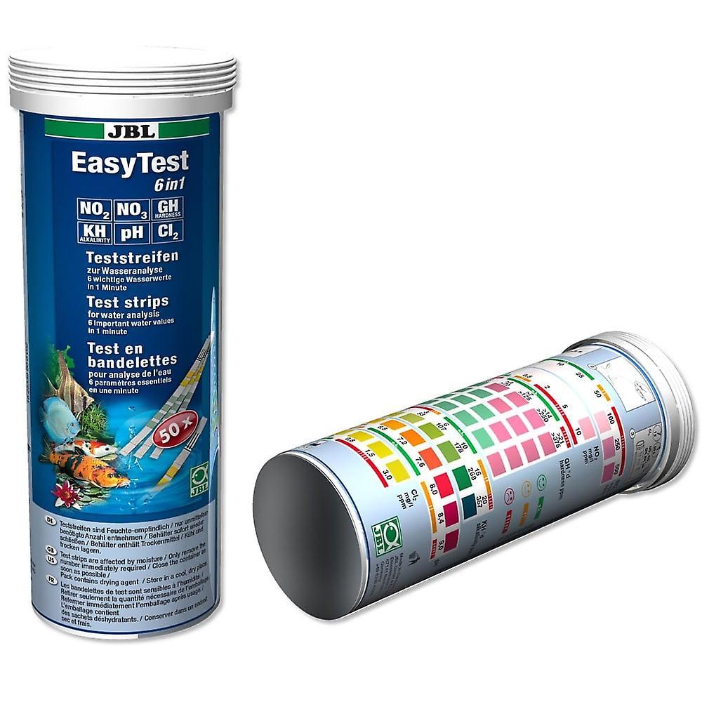 Jbl EasyTest 6-in-1 Water Test Strips