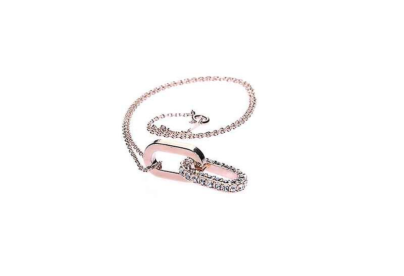 Dainty Unchain My Heart Lock Pendant Clavicle Necklace