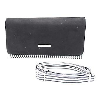 Peter Kaiser Black Box Clutch Bag mit Schultergurt