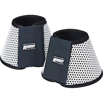 Roma Air Flow Shock Absorber Bell Boots - White