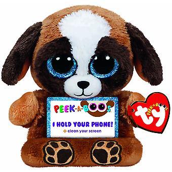TY Peek-A-Boos Pups Dog Phone Holder cusepet mobile phone Stand