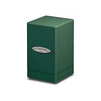 Ultra Pro DECKBOX Satin Tower C6 Card Game-Green