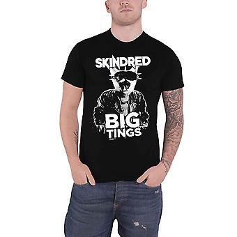 Skindred T Shirt Big Tings Band Logo new Official Mens Black