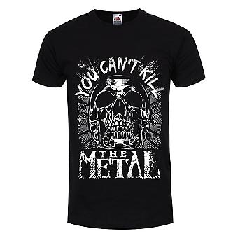 Grindstore Mens You Can't Kill The Metal T-Shirt Grindstore Mens You Can't Kill The Metal T-Shirt Grindstore Mens You Can't Kill The Metal T-Shirt Grindstore Mens You