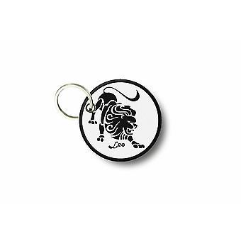 Cle Cles nyckel brode patch Ecusson lejon stjärntecken dörr