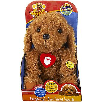 Everybody's Best Friend Waffle the Wonder Dog Interactive Soft Toy