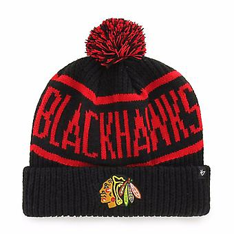 ' 47 NHL Chicago Blackhawks svart Calgary manschetten sticka