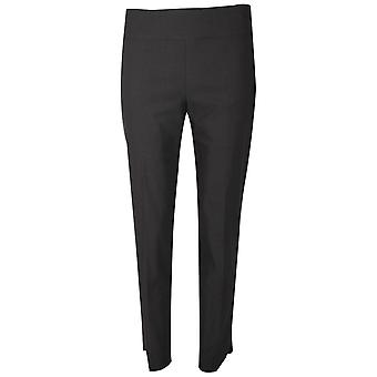 Up! Black Up! Pull On Trousers Petal Split